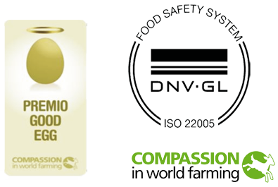 Premio Good Egg uova Le Camille, Compassion in World Farming
